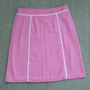 Jones wear polka dot skirt 12